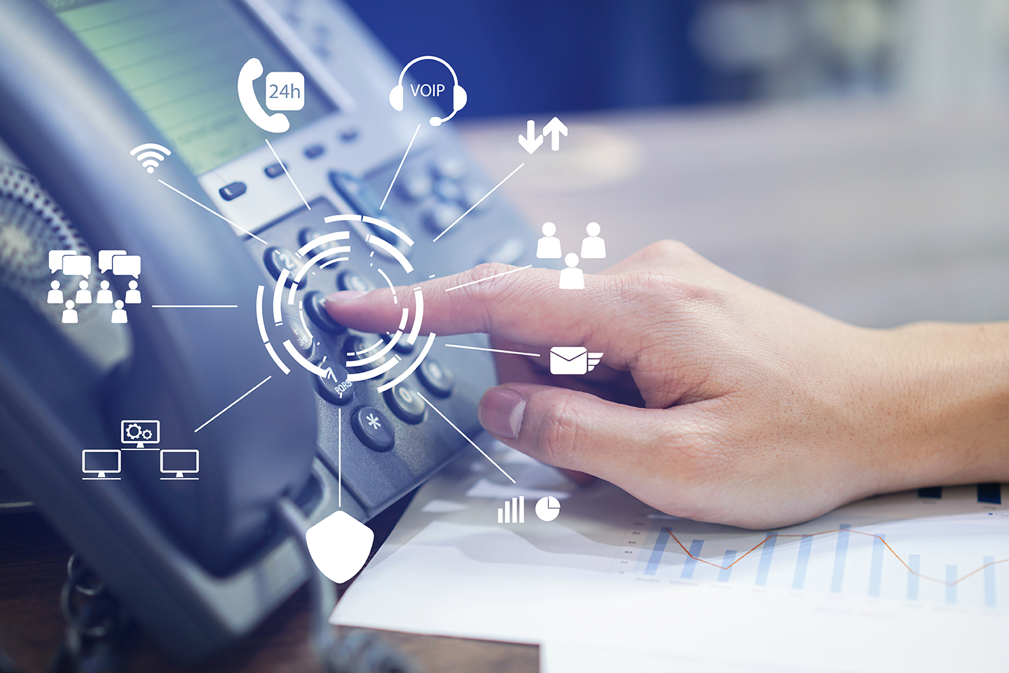 VoIP is rapidly becoming a popular alternative to traditional telephone service.